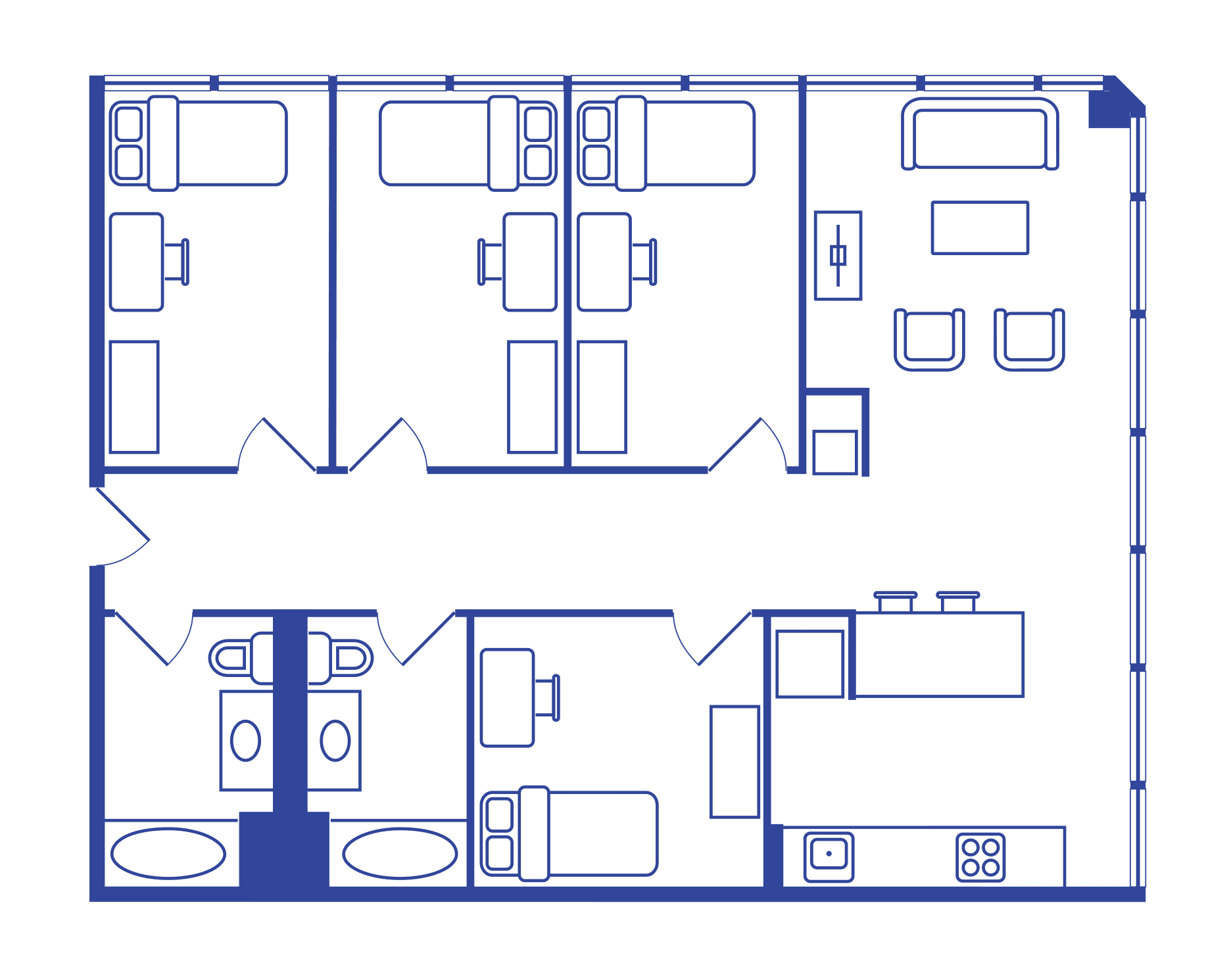 4 Bedroom Floorplan 2